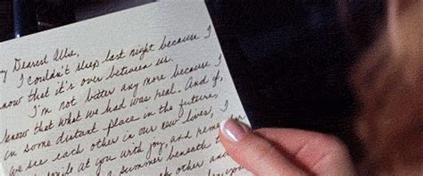 the notebook breakup letter up car animated gif 238767