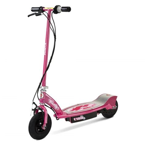 razor electric scooter with seat e100 razor 174 13111263 e100 sweet pea electric scooter