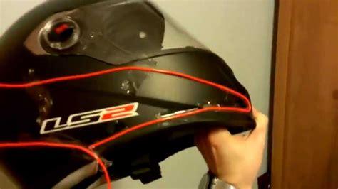 light motocross helmet el wire helmet kit wiring diagram schemes