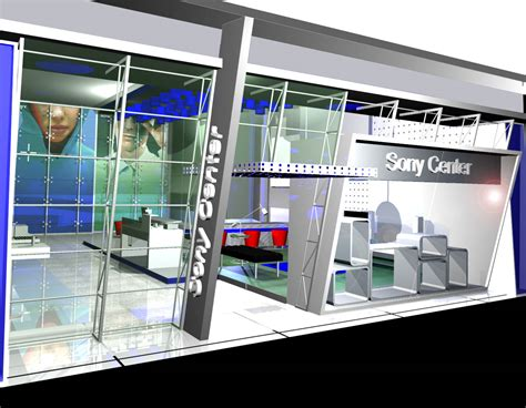 Sony Xperia M4 Ex Display Pameran Sony Indonesia international exhibition booth stand design contractor