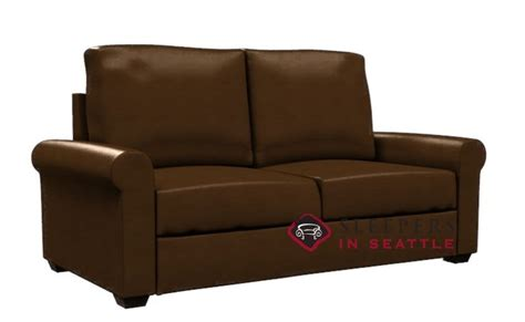 Paragon Sleeper by Customize And Personalize Endicott Leather Sofa By