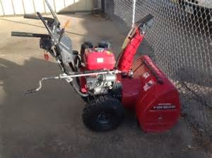 Honda Hs928 Snowblower 2010 Honda Hs928 Snow Blower For Sale 187 Agrivision Equipment