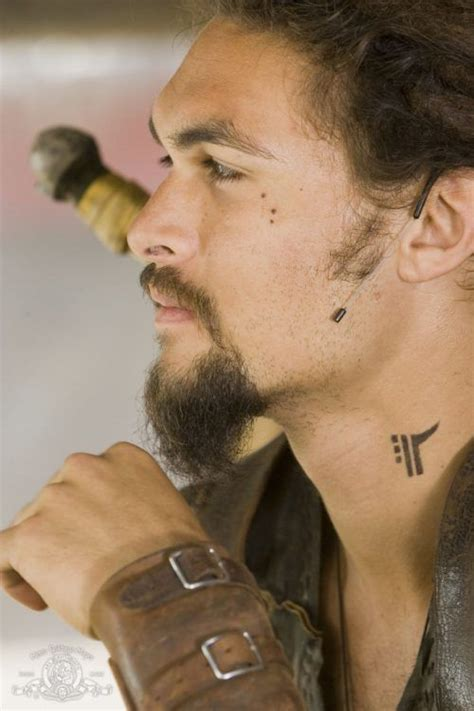 jason momoa neck tattoo ink pinterest jason momoa