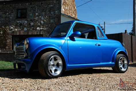 mini roadster 1275 turbo with removable hard top