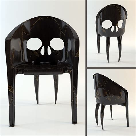 Skull Chair For Sale by Chair Quot The Skull With Fangs Quot Hi Poly Model By Valentin