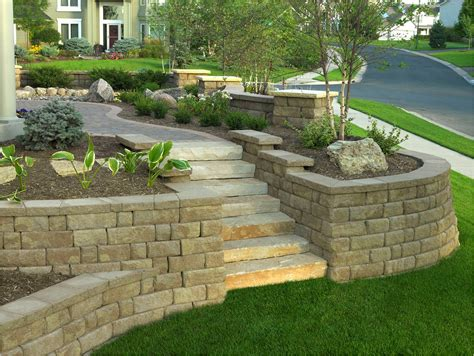 Block Garden Wall Central Pre Mix Gt Retaining Wall Blocks