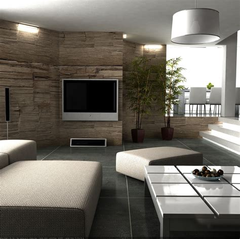Texture Wall Living Room Interior Design Ideas Living Room Wall Design