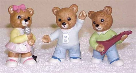 home interior bears home interiors homco bears teenagers 1421 figurines