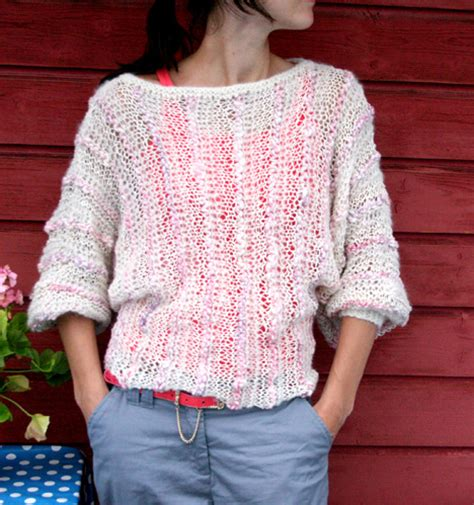 knit pattern summer sweater the prettiest knits for spring free patterns for women