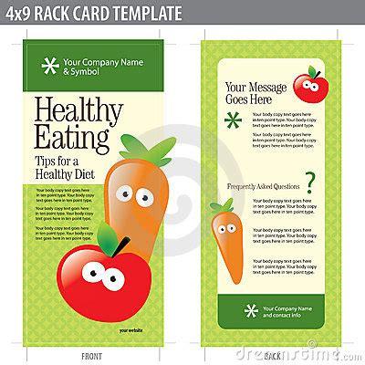 4x9 Rack Card Brochure Template Royalty Free Stock Images Image 8937029 4x9 Rack Card Template