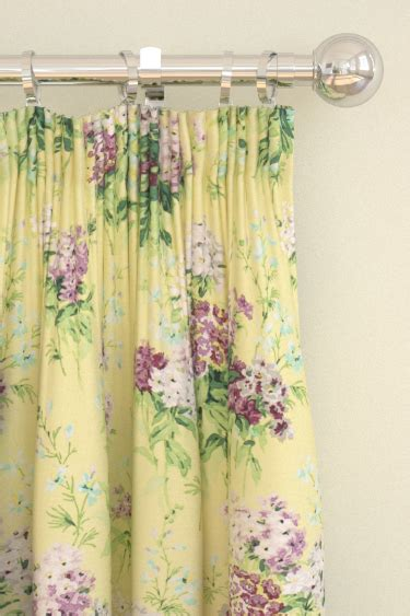 linden curtains sweet williams by sanderson linden mulberry