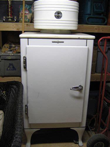 ge monitor top refrigerator vintage refrigerator