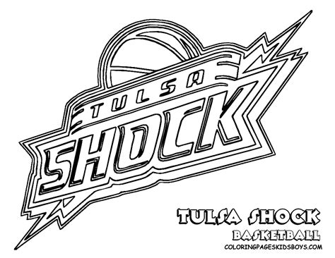 Coloring Pictures Of Basketball Teams | tulsa shock basketball teams coloring pages free printable