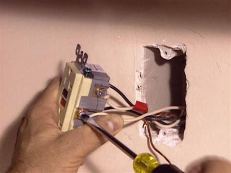 installing  gfci outlet  tos diy