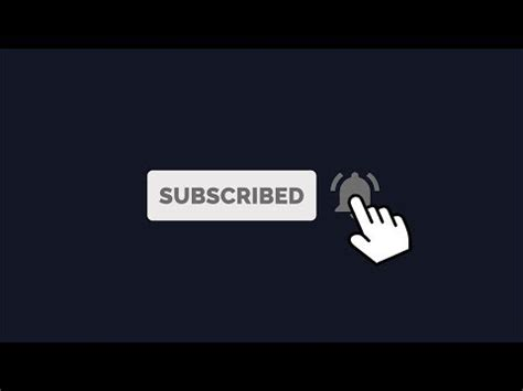 Free Intro Template Subscribe Animation Download Hd Doovi Bell Icon Intro Template After Effects