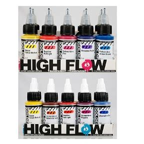 Set Safira Flow golden high flow sets the paint spot
