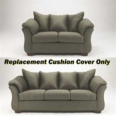 couch cushion cover replacement ashley 174 darcy replacement cushion cover only 7500338 or
