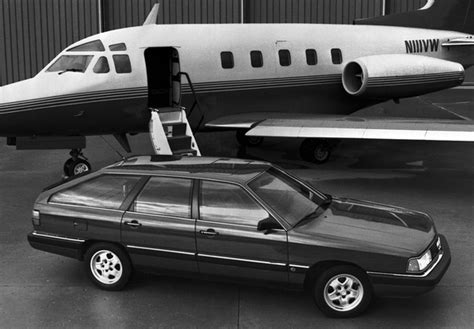 audi 5000cs quattro wagon 44 44q 1986 1988 photos