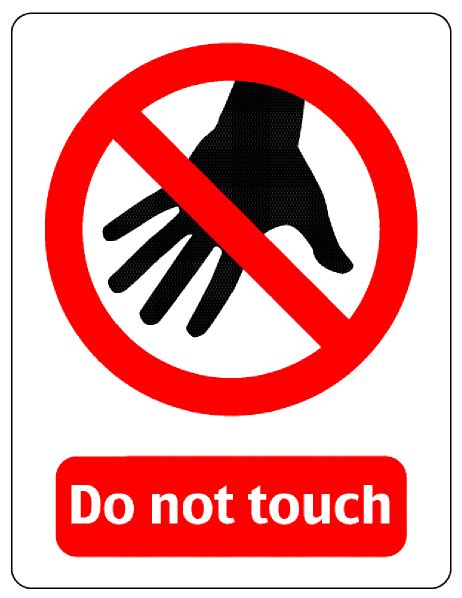 Do Not Do This At Home by Do Not Touch Clipart Clipart Suggest