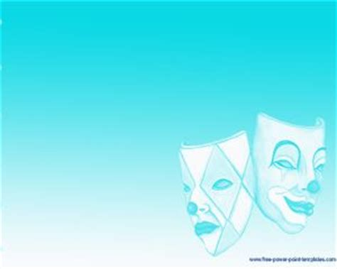 Drama Theater Powerpoint Template Drama Powerpoint