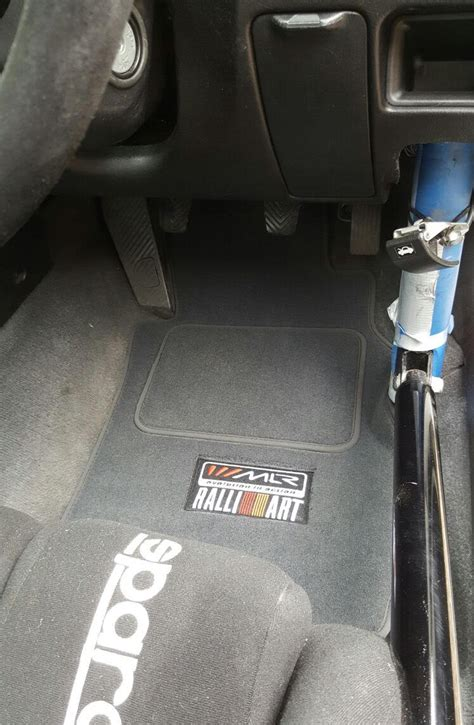 mitsubishi lancer ralliart floor mats mlr ralliart floor mats for mitsubishi lancer
