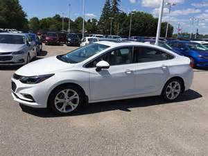 Used Summit White 2017 Chevrolet New 2017 Chevrolet Cruze 4dr Sdn Auto Premier 4 Door Car