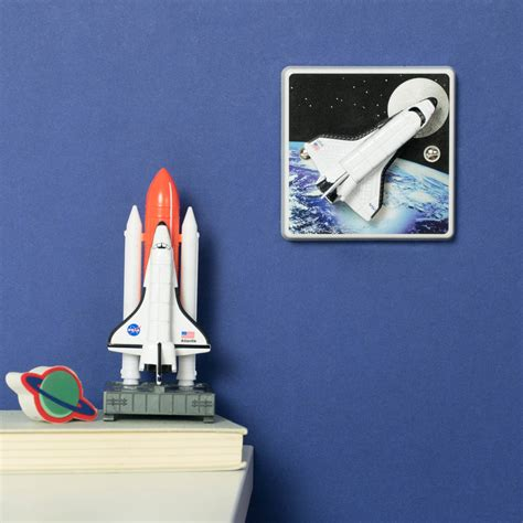 space themed bedrooms outer space bedroom rocket light switch by candy queen