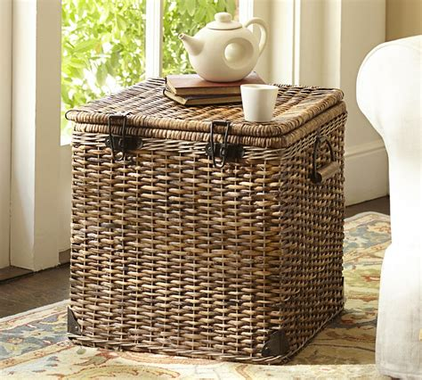 large basket for storing throw pillows 10 clever ways to use baskets