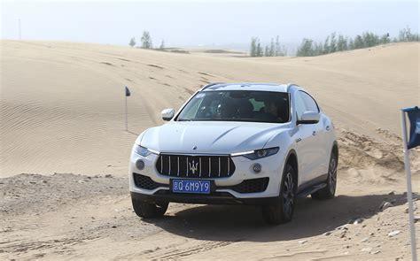 maserati china gallery test driving maserati levante in desert china