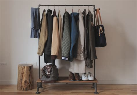 How To Build A Clothes Rack by I Am Davidj Diy Clothing Rack