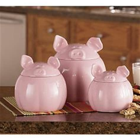 pig kitchen canisters 3pc piglets canister set pigs piglets piglets canister sets and canisters