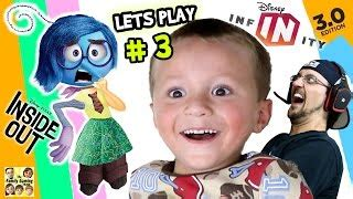 Tshirt Kaos I M The Danger lets play disney infinity 3 0 inside out