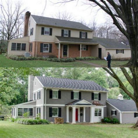 half brick half siding house ideas for painting a half brick half siding home pinteres