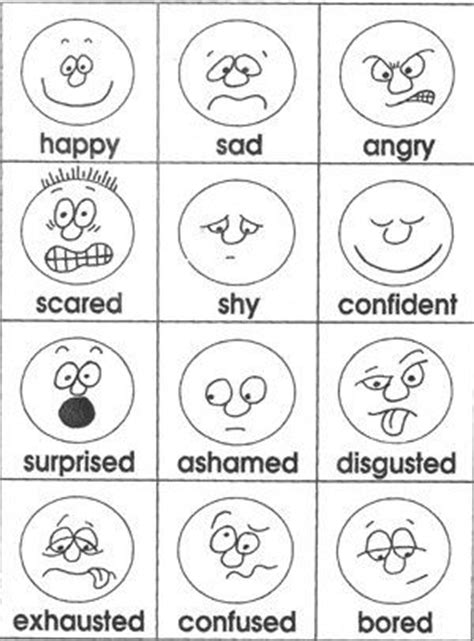 Emotions Cards From Teacher Treasures Mary S Freebie Page | emotions cards from teacher treasures mary s freebie page