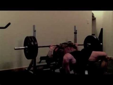 Us Navy Seal Chris Mckinley Bench Press 335lbs Youtube