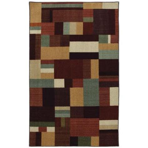 mohawk rugs discontinued mohawk home hue multi 5 ft x 8 ft area rug discontinued 320096 the home depot