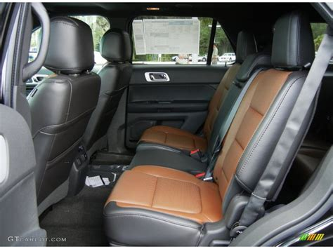 Ford Explorer 2013 Interior by Pecan Charcoal Black Interior 2013 Ford Explorer Limited