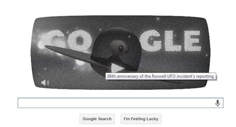 how to do roswell s 66th anniversary doodle roswell ufo incident doodle marks 66th anniversary