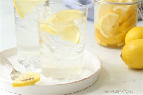 Lemon Detox Harvest Kitchen by Detox Honey Lemon Slices The Harvest Kitchen