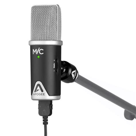 iphone microphone apogee mic 96k usb microphone for iphone and mac at gear4music ie