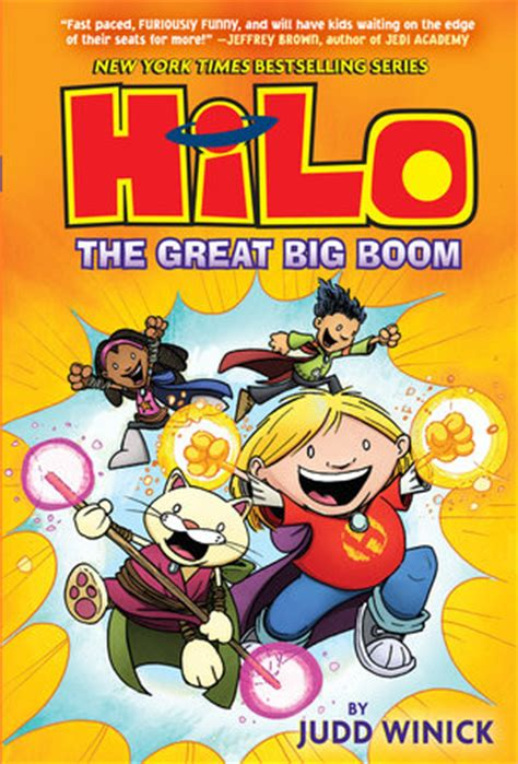 hilo book 3 the great big boom by judd winick