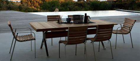 tavoli da giardino tavoli da giardino per esterno di design unopi 249
