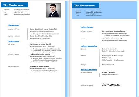 Vorlagen Modern Kostenlose Lebenslauf Vorlagen Office Lernen
