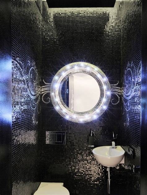 black mosaic bathroom 25 black and white mosaic bathroom tile ideas and pictures