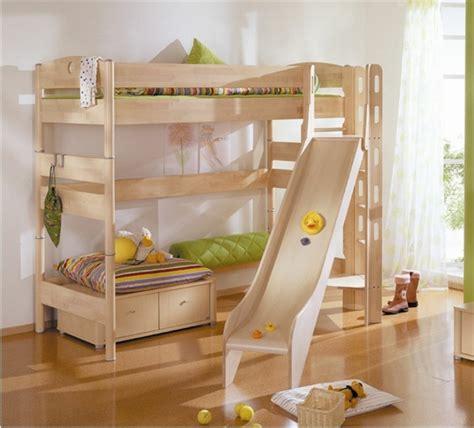 Loft Bed With Slide Ikea hochbett mit rutsche spa 223 im kinderzimmer
