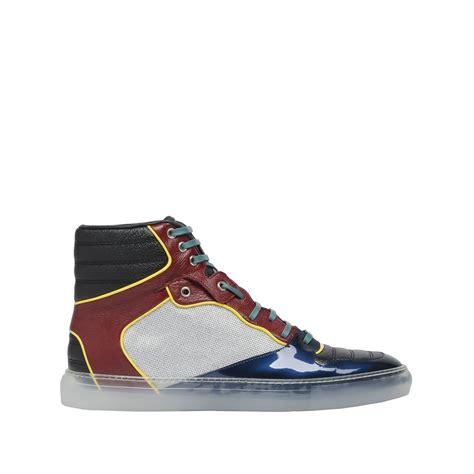 balenciaga sneakers mens balenciaga topstitched high sneakers s sneaker