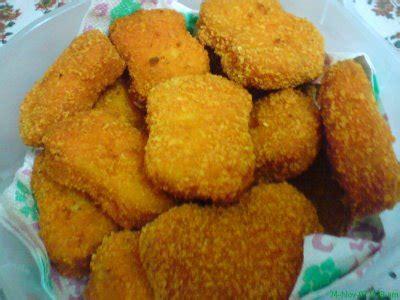 bahan untuk membuat nugget ayam resep membuat nugget ayam enak masakan bunda isni
