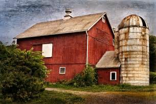 barn print rustic