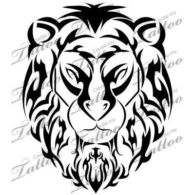 tattoo tribal lion head 13 best lion tattoo designs images on pinterest custom