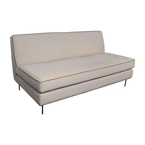 commune sofa 56 off west elm west elm commune armless sofa sofas
